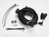 2007-2012 Jeep Wrangler Trailer Tow Wiring Harness - Complete Harness- - Mopar Harness Wiring