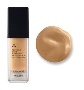 ARBONNE Perfecting Liquid Multi tasking liquid Foundation with SPF 15, Neutral Beige # 7627, 1 Pack