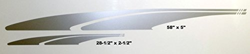 4 Decal Kit Rv Car Trailer Graphic Decals -712 ()