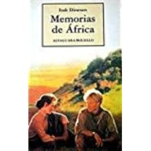 Memorias de Africa - B - (Spanish Edition): Barbara McShane, Javier Alfaya, Isak Dinesen: 9788420427461: Amazon.com: Books