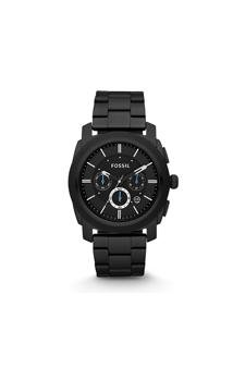 Fossil Fs4552p Machine Chronograph Black Stainless Steel Watch Watch For Men