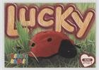 Lucky the Lady Bug with Felt Spots (Trading Card) 1999 Ty Beanie Babies Series 3 - [Base] #104