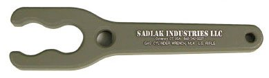 """Sadlak Industries M14/M1A Gas Cylinder Wrench Aluminum, 1/2"""" Thick"""