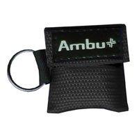 248201102 PT# 248201102- Mask Protective Res-Cue Key Elastic Ear Bands Black Ea by, Ambu Inc