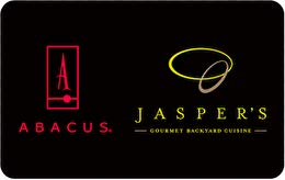 Abacus-Jasper's Restaurant Group Gift Card - Jasper Abacus