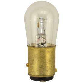 Miniature Bulb Bay15d Base (Replacement IN-01XR1 MINIATURE LAMP .55 AMPS 5V Replacement Light Bulb)