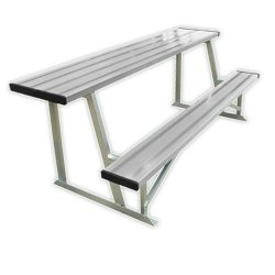 Scorer's Table with Bench, Natural, 7.5-Feet
