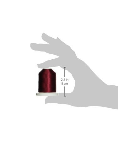 1100-Yard Robison-Anton Rayon Super Strength Thread Burgundy