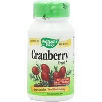 Nature's Way Cranberry Fruit, 465mg, 100 Capsules Please ...