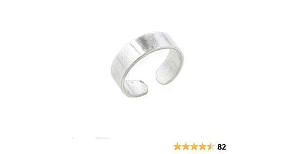 Midi Ring Braided Band Toe Ring Knuckle Ring Solid Silver Toe Ring 925 Sterling Silver Pinkie Finger Band PCT53 Foot Jewelry