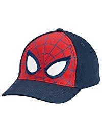 Spider-Man Little Boys Toddler Baseball Hat Cap Navy/Red ()