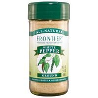 Frontier Herb Ground White Pepper ( 1x1lb) ( Multi-Pack)