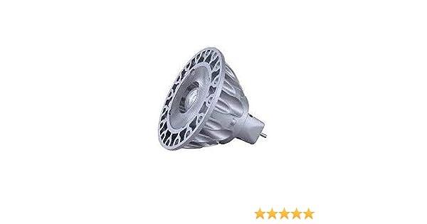Soraa 777061 SM16-07-25D-940-03 Vivid MR16 GU5.3 7.5W 4000K 25 Degree LED Light Bulb Pack of 5