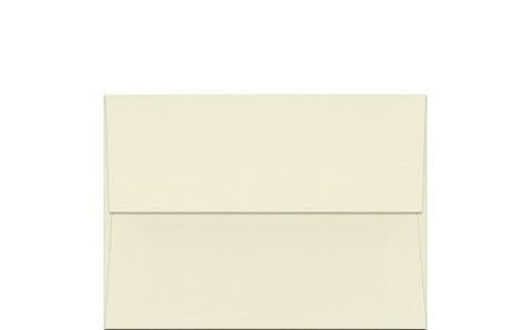Envelope Classic Crest Natural - Classic Crest Natural White A2 (4-3/8-x-5-3/4) Envelopes 50-pk - 118 GSM (32/80lb Text) PaperPapers 4X5 holds paper folded 4-ways Invitation, Response and DIY Greeting Envelopes