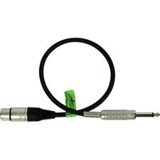 Belden Star-Quad Audio Cable XLR Female to 1/4-Inch Male -by-TecNec by Sescom