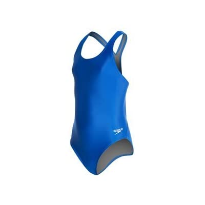 Speedo Girl's Solid Super Pro (Youth) - ProLT Speedo Blue 24