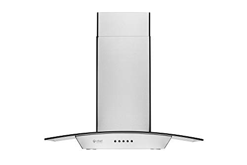 "Hauslane | Chef Series Range Hood WM-630 30"" Wall Mount Range Hood 