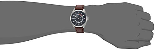 Tommy Hilfiger Men's 'Sport' Quartz Stainless Steel and Leather Casual Watch, Color:Brown (Model: 1791371)