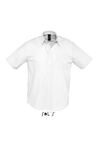 SOL´S - Herren Oxford-Kurzarmhemd Brisbane M,White