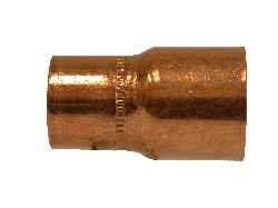 Midland Metal 77284 Copper 3 X 2-1/2 Red Cplg W\Stop Cxc (Pack Of 10)