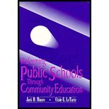 Reforming Public Schools Through Community Education 9780840395689