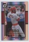 Ozzie Smith #112/400 (Baseball Card) 2014 Panini Donruss - [Base] - Gold Career Stat Line #189 (Ozzie Smith Career)