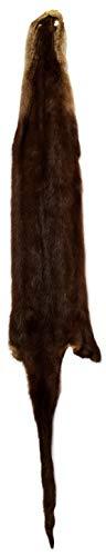 Professionally Tanned Otter Fur Pelt 36+ Inches Long - 1 Pelt ()