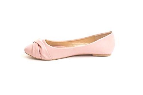 Scarpe Da Donna Scarpe Casual Da Donna Slip On Mocassini Eleganti Appartamenti Us Size 6-11 Peach Blush