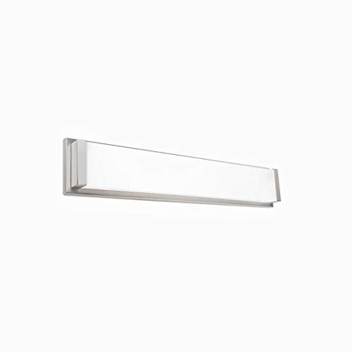 (WAC Lighting WS-180120-35-BN Metro Energy Star LED Bathroom Vanity & Wall Light, 20 Inches, Brushed Nickel)