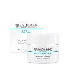 Janssen Cosmeceutical Dry Skin Night Replenisher 1.7 Oz