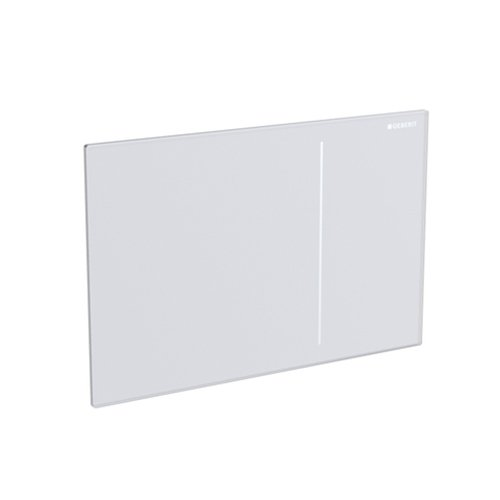 Geberit 115.620.FW.1 Sigma70 Flush Plate, Brushed Stainless Steel