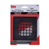 Oatey Snap-Tite 4-1/4 in. Square Strainer Rubbed Bronze