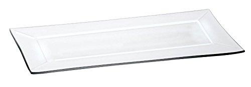 VBS Rechteckiger Glasteller