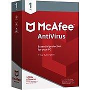 McAfeeAntiVirus 1 PC (1 User) [Boxed]