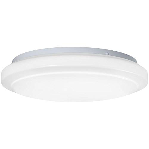 Hampton Bay 16 in. Round Bright/Cool White LED Ceiling Flushmount Light Fixture