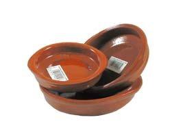 Terracotta Tapas Dish, Set of 3 (10+12+14cm) Valdearcos Martos S.A