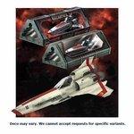 Moebius Models 10016335 Battlestar Galactica Viper MK Ii Prefinished Model Kit