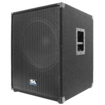 Active 18 Inch PA/DJ Subwoofer Cabinet