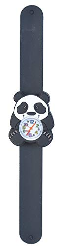 Wild Republic Panda, Slap Bracelets for Kids, Toy Watch, Educational Toys, 9 inches (Panda Watch)