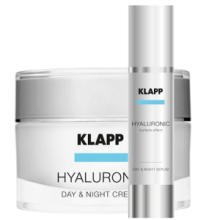 KALPP HYALURONIC FACE Set: Day & Night Cream,Day & Night Serum by KLAPP HYALURONIC
