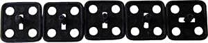 MACs Auto Parts 42-77109 Hood Insulation Clips Used - - Pack Of 5