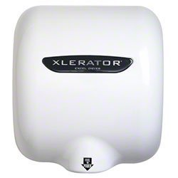 Xlerator White Hand Air Dryer XLBW, Commerrcial Grade High Speed Automatic  Xlerator Bathroom