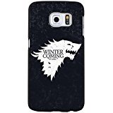 Special Black Background Game Of Thrones Phone Case Retro Phone Cover for Samsung Galaxy S6 Edge Plus