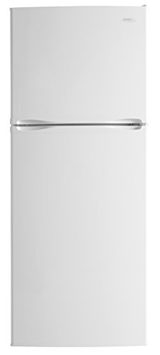 Danby DFF100C2WDD Frost-Free Refrigerator with Top-Mount Freezer, 9.9 Cubic Feet, White (Top Refrigerator Freezer Door Hinge)