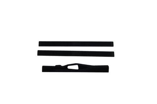 - Auto Ventshade 90924 Stepshield Black Door Sill Protector, 3-Piece Set for 1996-1999 GMC C/K1500-C/K3500
