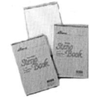 Ampad 25472 6 x 9- White Gregg Rule Spiral Steno Book 70 Sheets