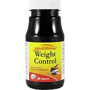Weight Control - Promote Fat Breakdown, 30 tabs,(Nature's Measure)
