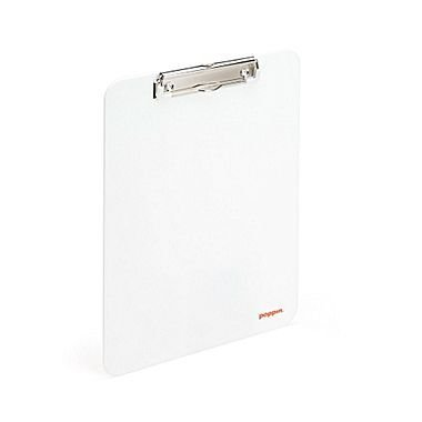 Poppin Clipboard, White by Poppin