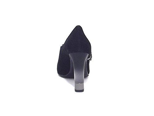negro de cordones Zapatos para negro mujer Barachini w4qHzBUf
