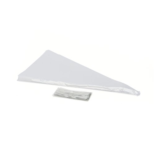 """LSP- 120 Pack of 14"""" X 7"""" Clear Cellophane Cone Shaped Treat"""